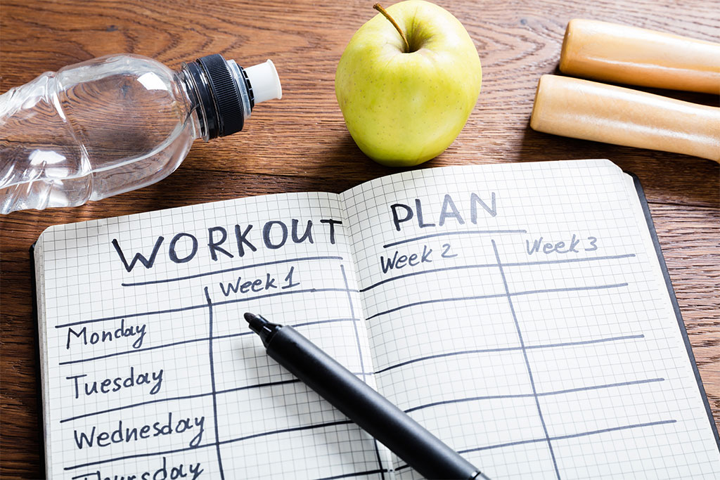 How to plan your workouts, fitness, cardio, strenght, sport, health
