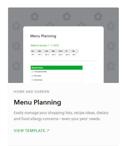 Introducing Evernote templates, Evernote, Evernote for fitness, fitness, personal training, chape